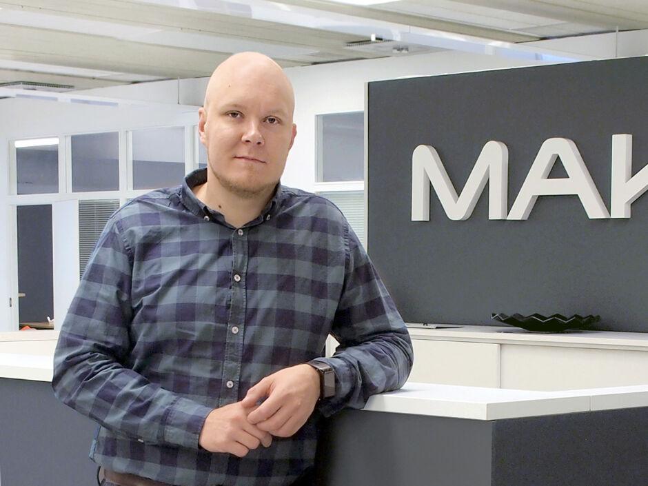 Business Manager Verneri Väisänen, Makron Engineering, Finland