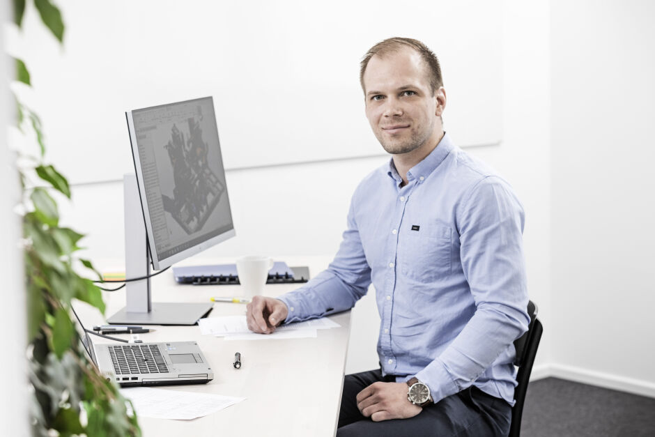 Design Engineer Juho Ihanamäki, Makron Engineering, Lahti Finland