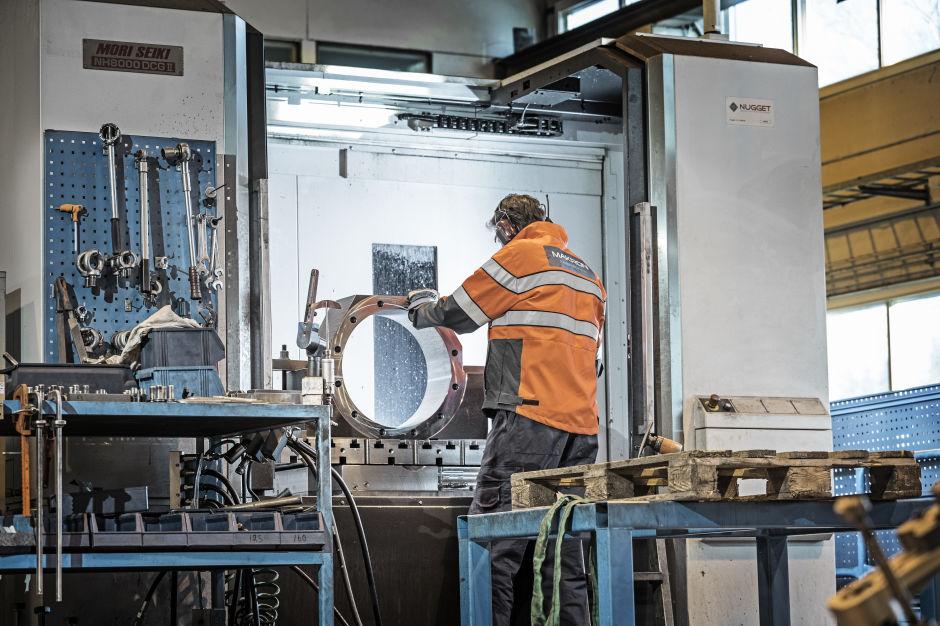 Makron machining
